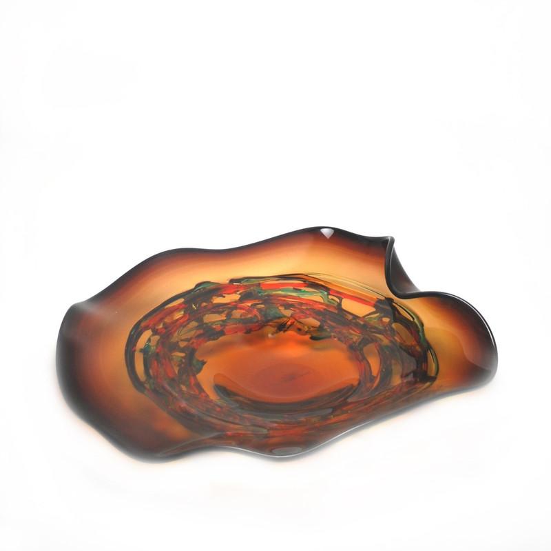 Murano Glass Allegria Centerpiece Plate