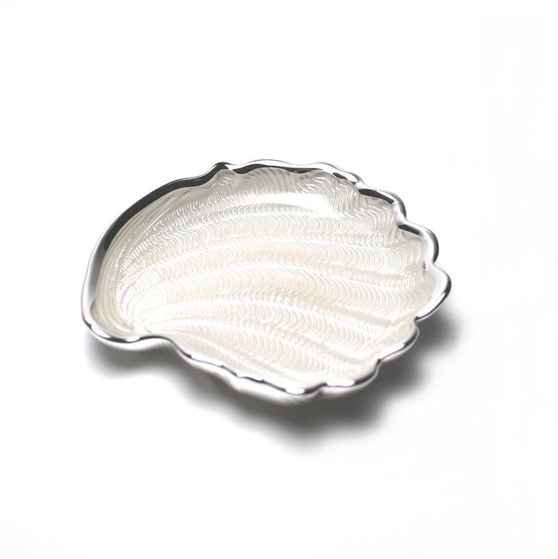 Conchiglia Plate Pearl White