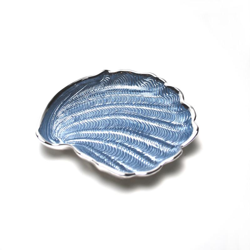 Conchiglia Plate Sky Blue