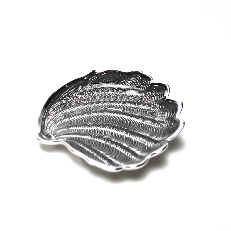 Conchiglia Plate Ice Grey