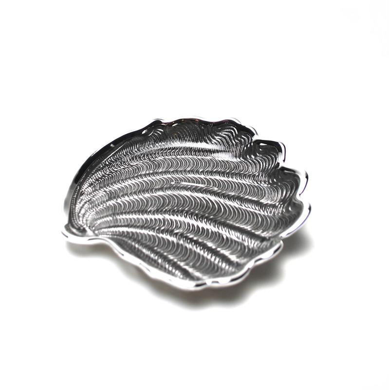 Conchiglia Plate Ice Grey