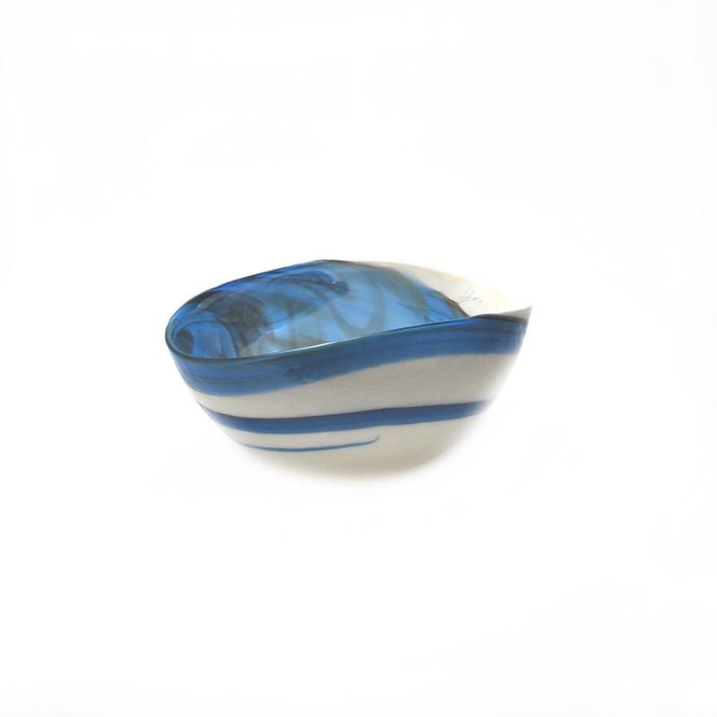 Murano Glass Pavone Bowl