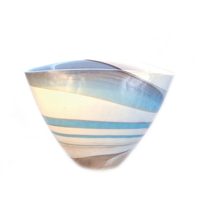 Murano Glass Wave Vase
