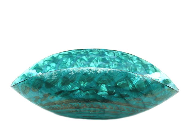 Murano Glass Emerald Shore Bowl