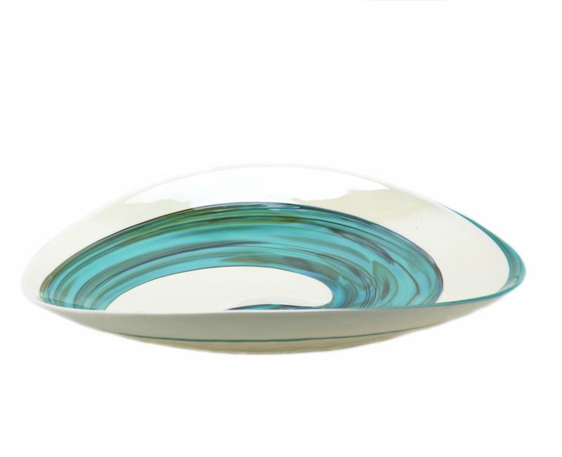 Murano Glass Amazzone Centerpiece Plate