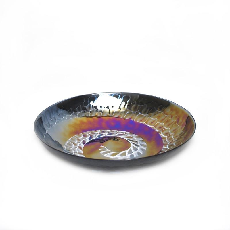 Murano Glass Cortina Centerpiece Bowl
