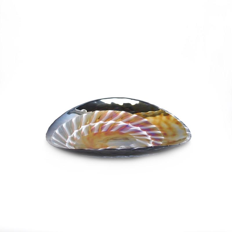Murano Glass Cortina Centerpiece Plate
