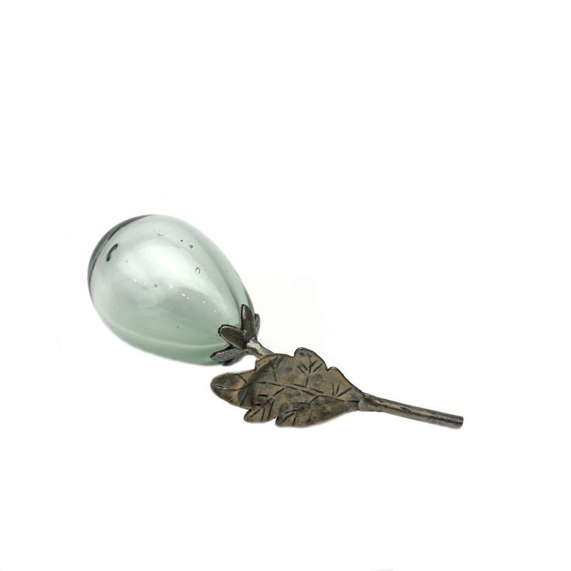 Wrought Iron Glass Lemon