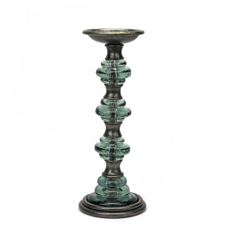 Empire Wrought Iron Candlestick