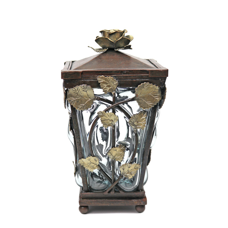 Vine Wrought Iron Canister