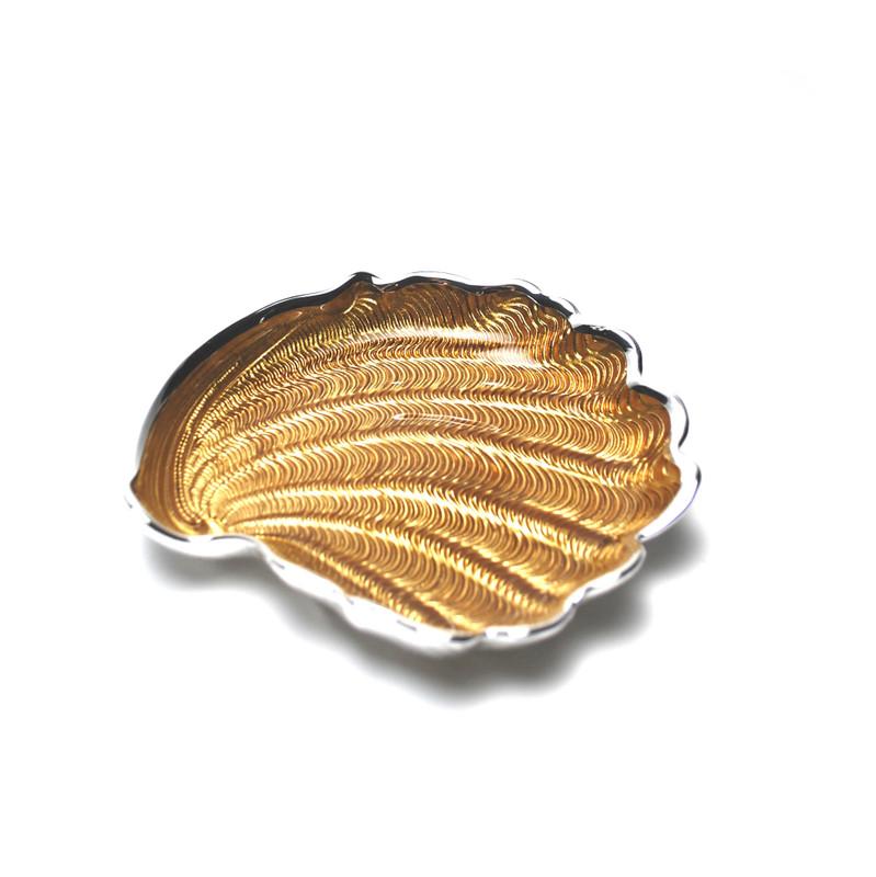 Conchiglia Plate Amber