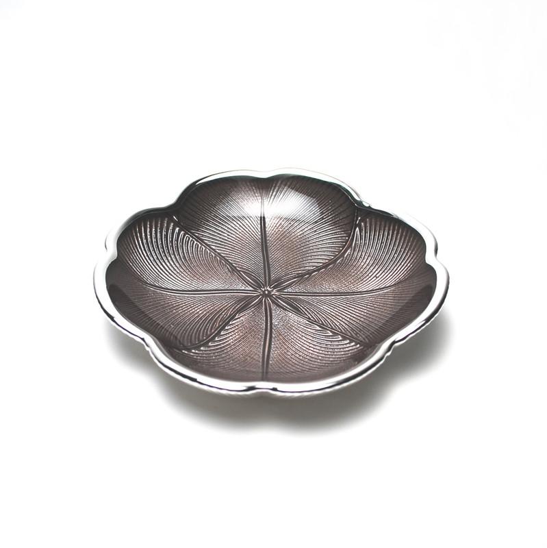 Quadrifoglio Plate Brown