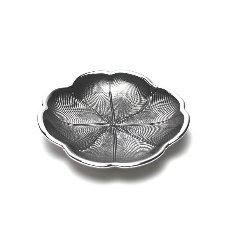 Quadrifoglio Plate Ice Grey