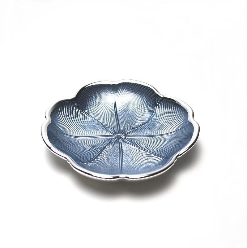 Quadrifoglio Plate Sky Blue