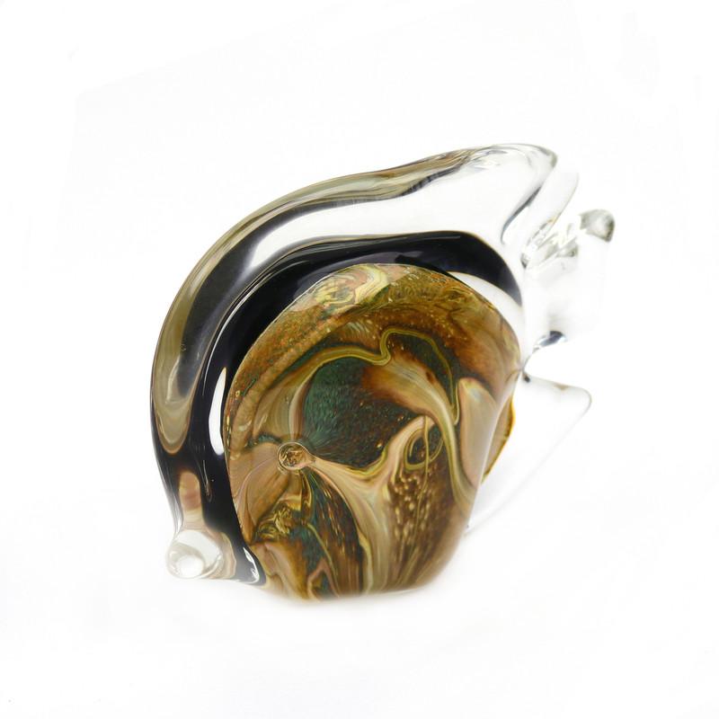 Murano Glass Tropical Fish Calcedonia