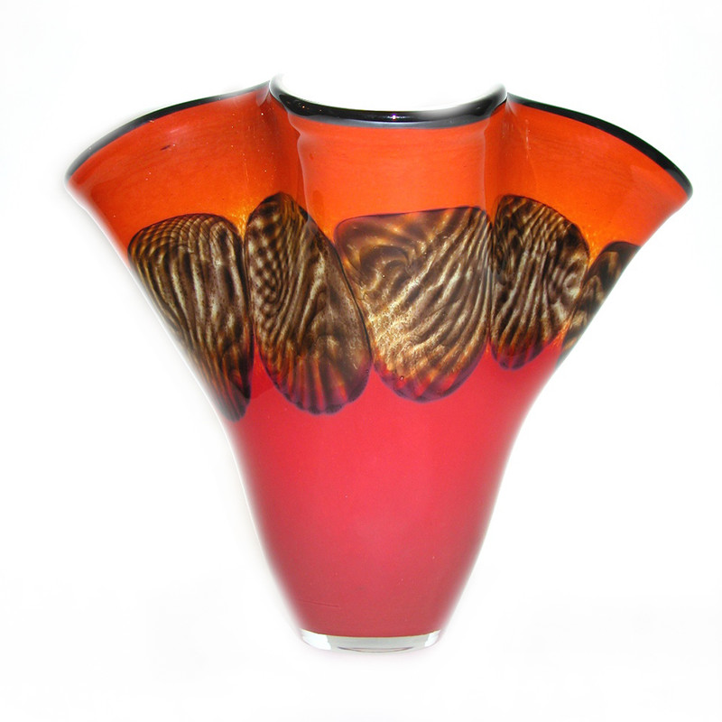 Safari Ruffle Vase