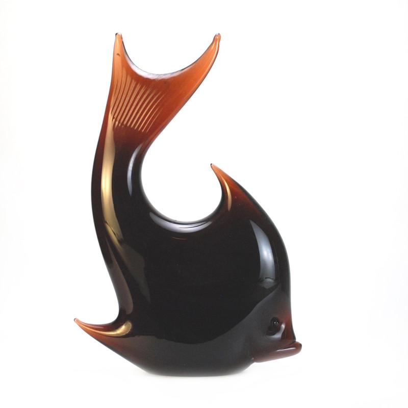Murano Glass Tropical Fish Tobacco