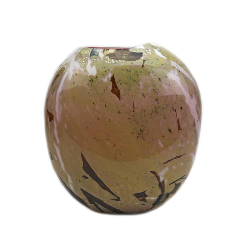 Murano Glass Calcedonia Vase