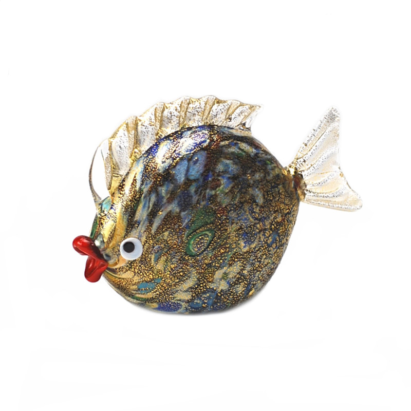 Murano Glass fish Murrine