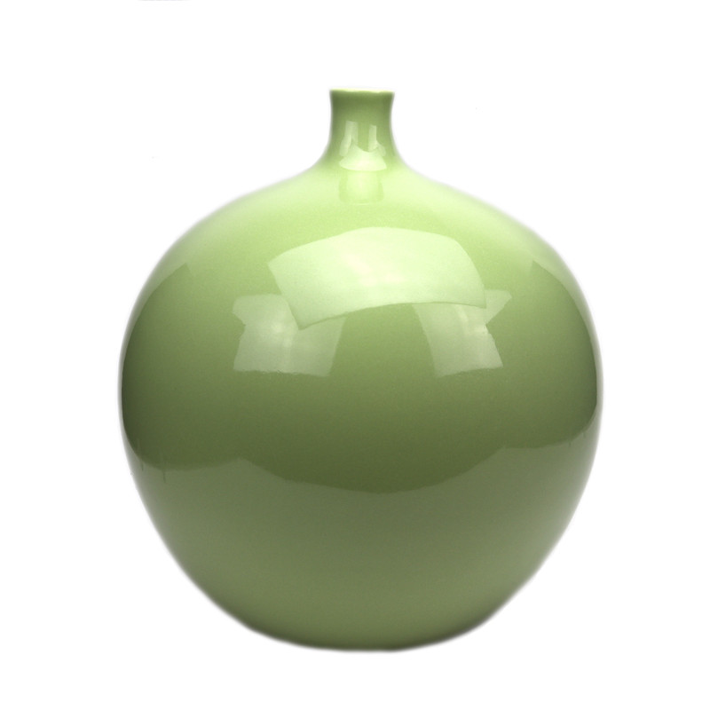 Claudia Ceramic Vase Sage Green