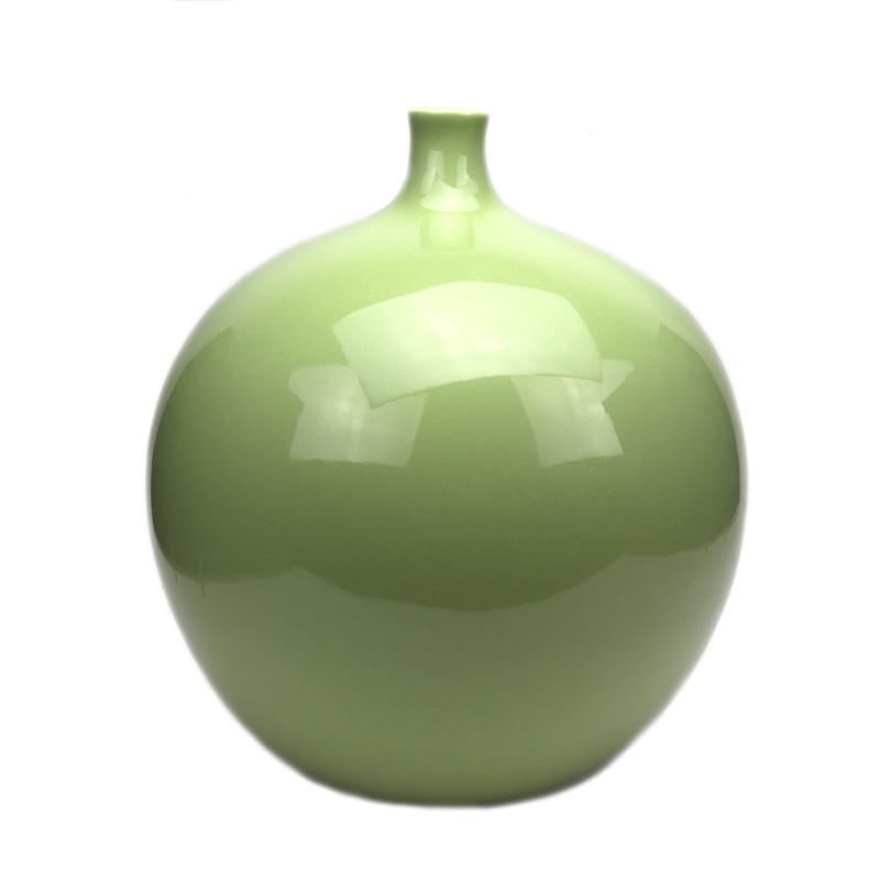 Claudia Ceramic Vase Sage Green