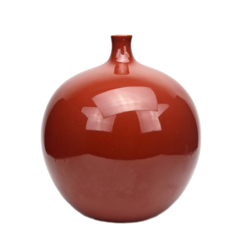 Claudia Ceramic Vase Rust