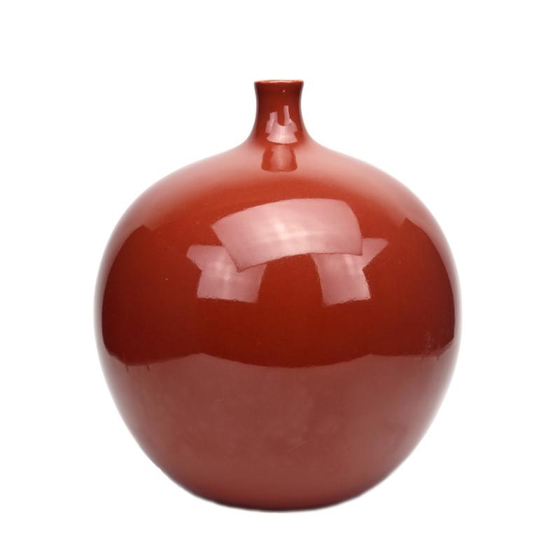 Claudia Ceramic Vase Rust