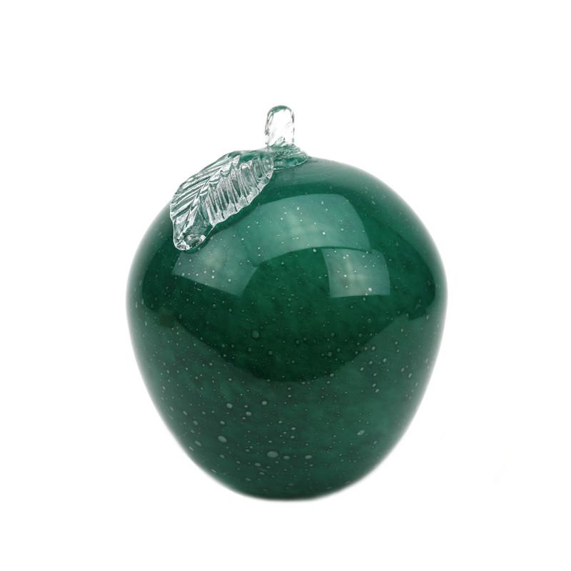 Italian Glass Green Apple