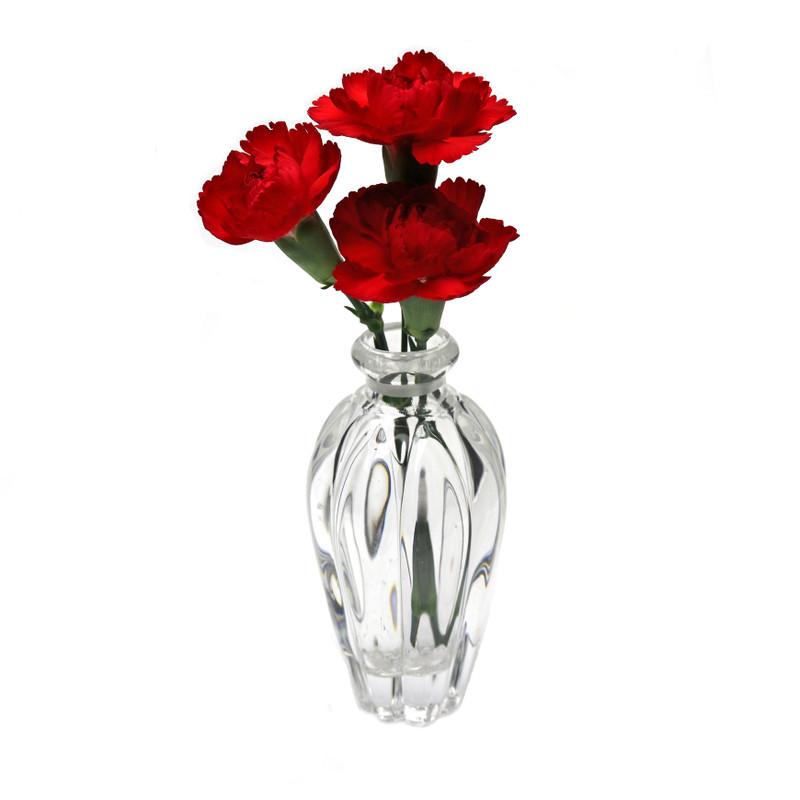 """Romantica Crystal Bud Vase 5"""" Ht."""