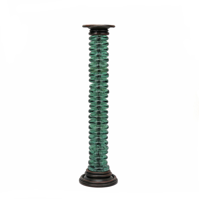 Rhine Wrought Iron Candlestick