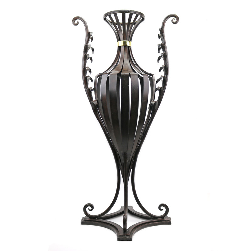 Fern Wrought Iron Jardiniere