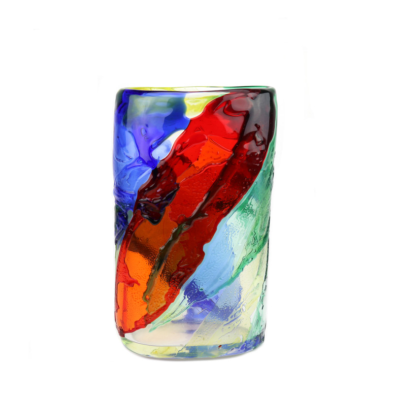 Murano Glass Cascade Vase