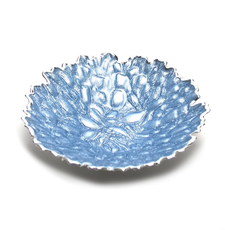 Moss Centerpiece Bowl Sky Blue