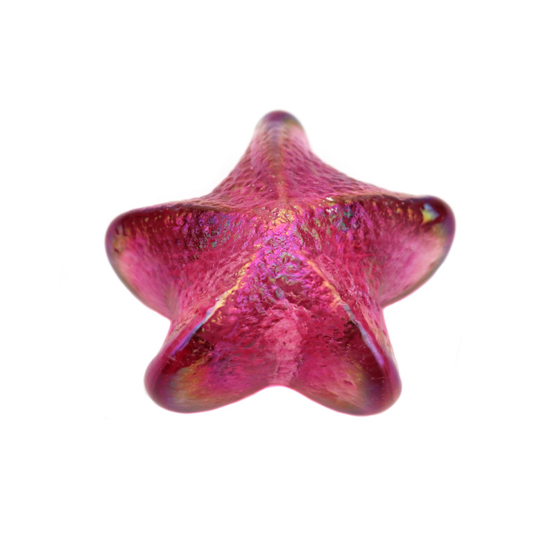 Star Paperweight Ruby