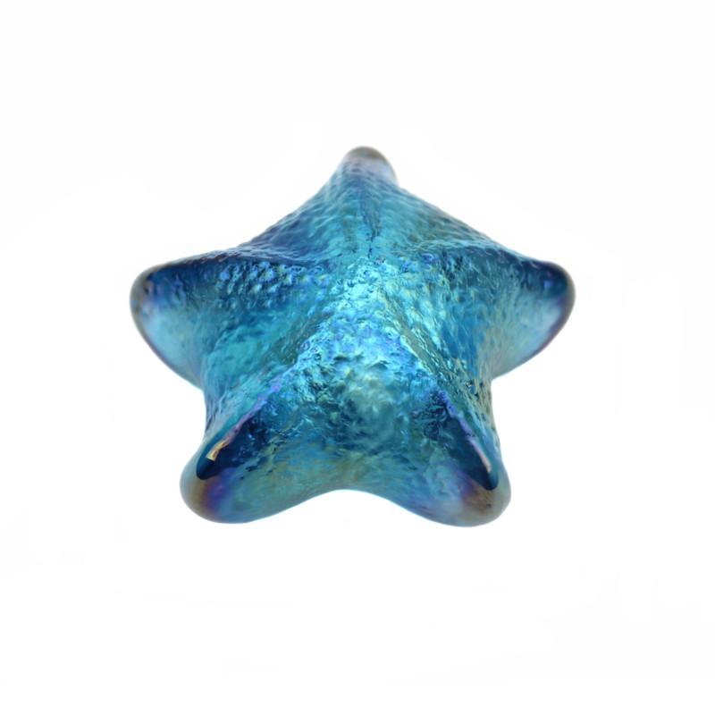 Starfish Paperweight Blue