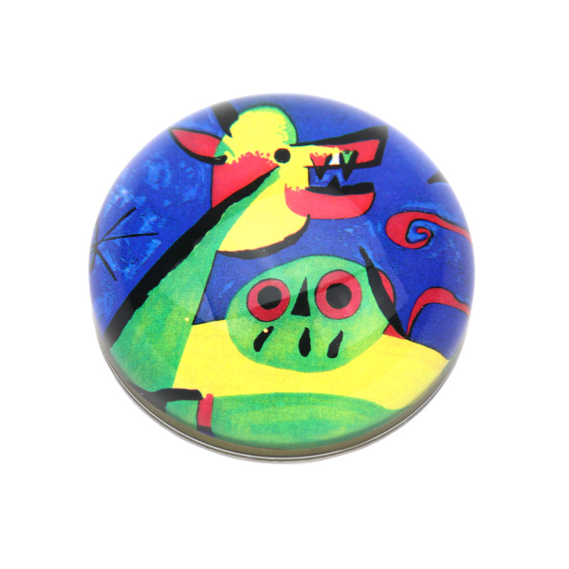 Miro Crystal Dome Paperweight