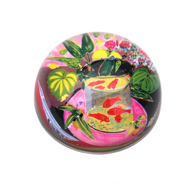 Matisse Fish Crystal Dome Paperweight