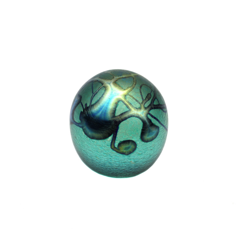 Elements Paperweight Teal Green