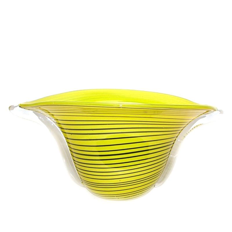 Tuica Arch Centerpiece Bowl Yellow