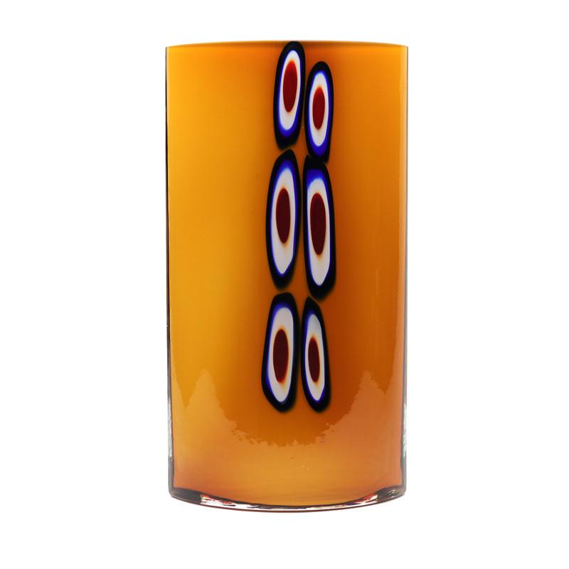 Murrine Oval Vase