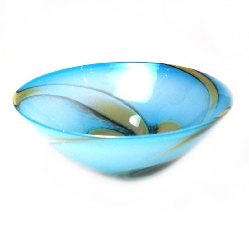 Gabrielle Centerpiece Bowl Turquoise