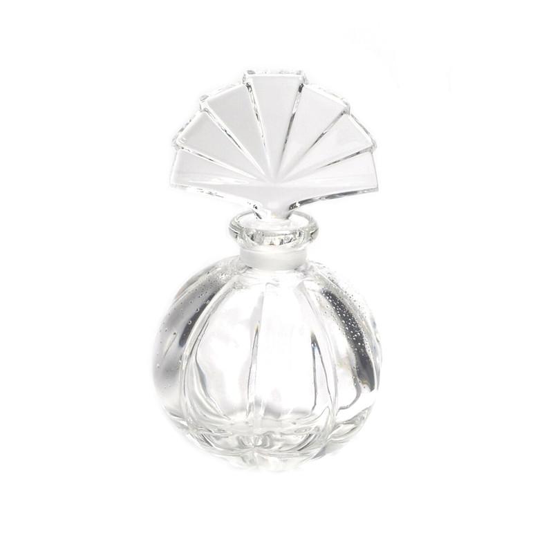 Fan Crystal Perfume Bottle