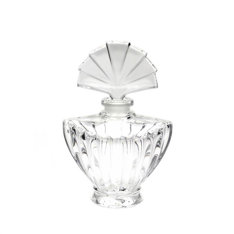 Elysses Crystal Perfume Bottle with Fan Stopper
