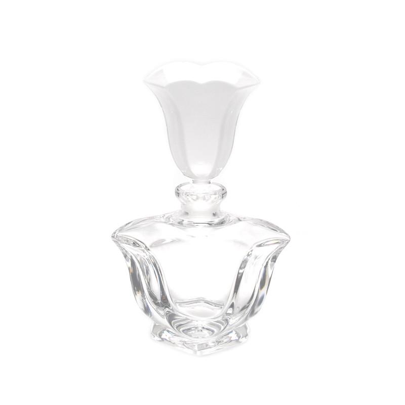Fleur-de-lis Crystal Perfume Bottle