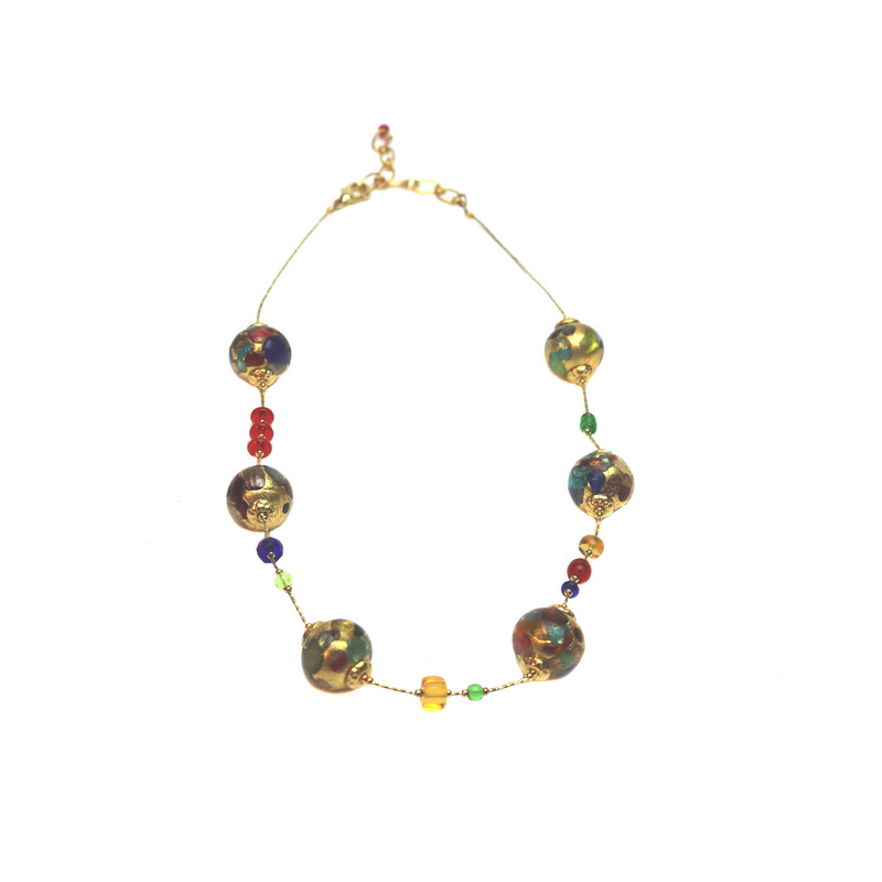 Murano Glass Venus Necklace Barocco