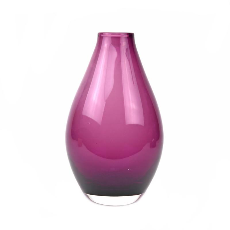 Teardrop Vase Violet