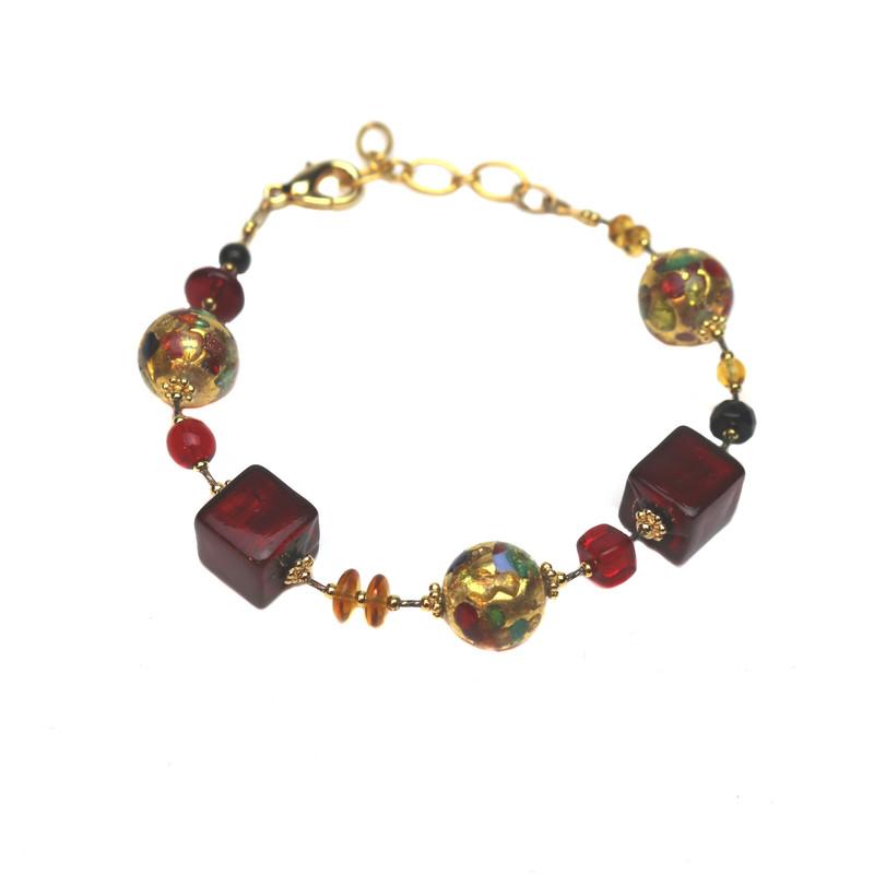 Murano Glass Fantasia Bracelet Barocco