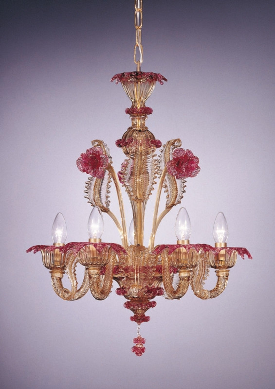 Murano Glass Siena Chandelier