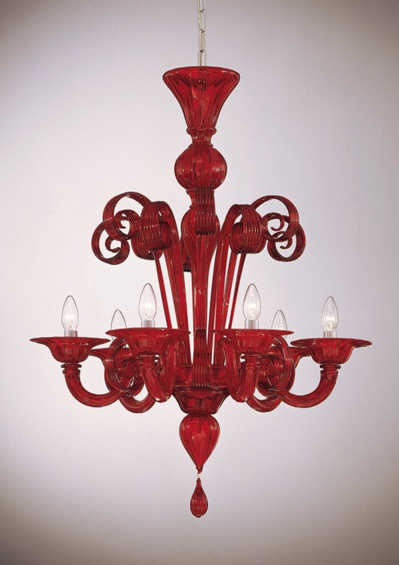 Murano Glass Piemonte Chandelier