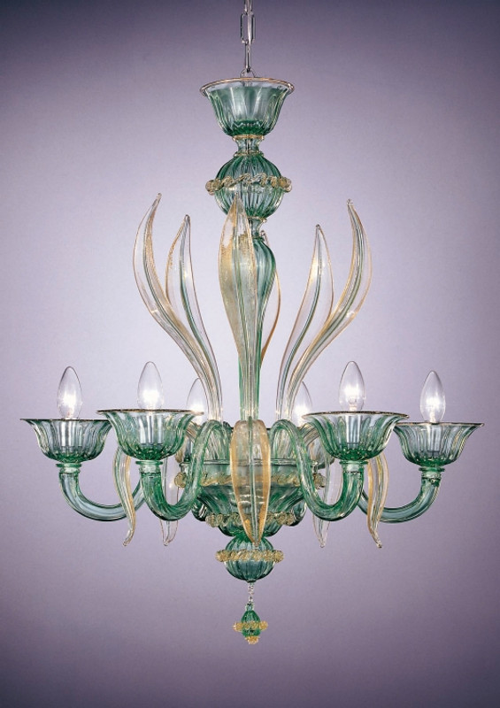 Murano Glass Milano Chandelier
